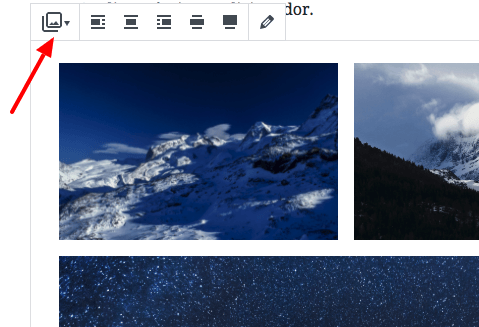 Gutenberg - Guia Básico do Novo Editor do WordPress - converter bloco