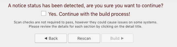 Testando WordPress com Duplicator - aviso